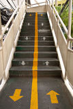 The Footbridges in Thailand. Royalty Free Stock Images