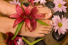 Footcare and pampering Stock Image