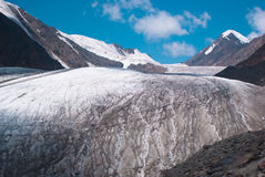At the foothill of Big Aktru glacier Stock Photography
