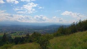 foothills fotografie stock