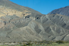 Foothills of the Andes. The foothills of the Andes, Argentina, Salta province Royalty Free Stock Images