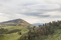 Foothills av steniga berg Arkivbild