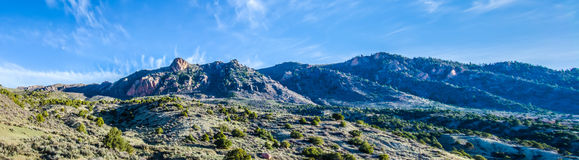 The foothills of colorado rockies Royalty Free Stock Photos