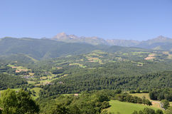Foothills of the French Pyrenees Royalty Free Stock Images