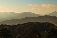On top of Mount Takao