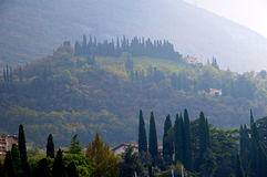 The foothills of Monte Baldo Stock Photography