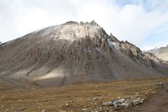 The foothills of Tibet Royalty Free Stock Photo
