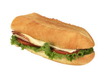 FootLong Sandwich Stock Photography
