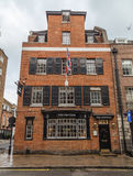 The Footman Pub Mayfair London Stock Photo