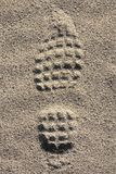 Footmark Royalty Free Stock Photo
