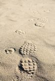 Footmarks Royalty Free Stock Image