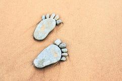 Footmarks Stock Image