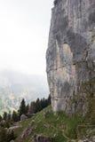 Footpath в горах Стоковая Фотография