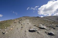 footpath гористый стоковая фотография