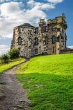 Footpath к готской дому Эдинбург стоковые фотографии rf