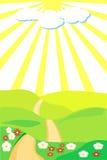 footpath royalty ilustracja