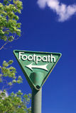 footpath Obrazy Royalty Free
