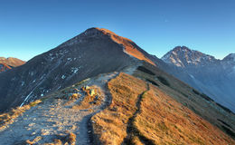 Footpath in high west Tatras Stock Images
