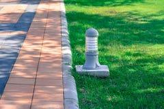 Footpath i trawa Obraz Stock