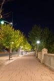 Footpath in Ottawa Stock Image