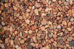Footpath pebble Stock Image