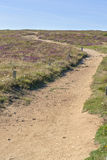 Footpath at Pointe du Van in Brittany Stock Photos