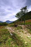 Footpath to Fleetwith Pike Stock Photos