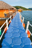 Footpath to houseboat Royalty Free Stock Photo
