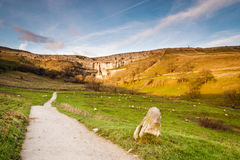 Footpath to Malham Cove Royalty Free Stock Photo