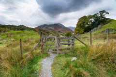 Footpath to the Mountains Royalty Free Stock Image