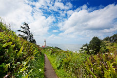 Footpath to North Head Light Royalty Free Stock Photography