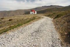Footpath To San Francisco Refuge In Sierra Nevada Royalty Free Stock Image