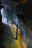 Footpath trough Partnach Gorge. Royalty Free Stock Photo