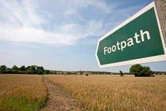 Footpath ,UK Stock Photos