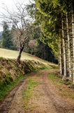 Footpath in Upper Austria Royalty Free Stock Photography