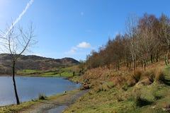 Footpath by Watendlath Tarn Lake District, Cumbria Stock Photo