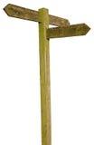 footpath znak Zdjęcia Stock