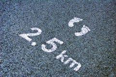 Footprin op grond Stock Afbeelding