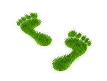 Footprint. Royalty Free Stock Photos