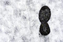 Footprint Stock Image