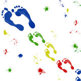 Footprint stock photography