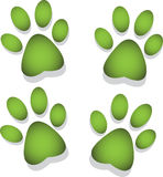 Footprint of an animal Royalty Free Stock Photo