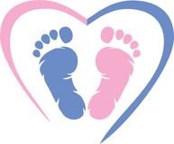 Footprint. Icon for design royalty free stock image