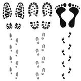Footprint. Vector illustration (EPS 10 Royalty Free Stock Images