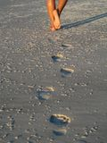 Footprints  Stock Images