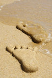 Footprints Stock Photos
