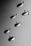 Footprints Royalty Free Stock Photo