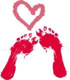 Footprints Royalty Free Stock Image