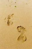 footprints Photo stock