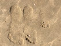 footprints Photos stock